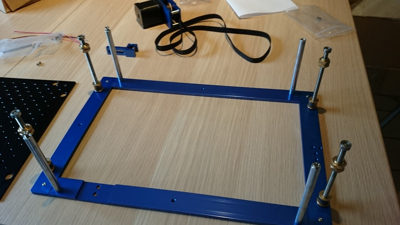 LightObject com: Power table/ bed kit for K40 small laser